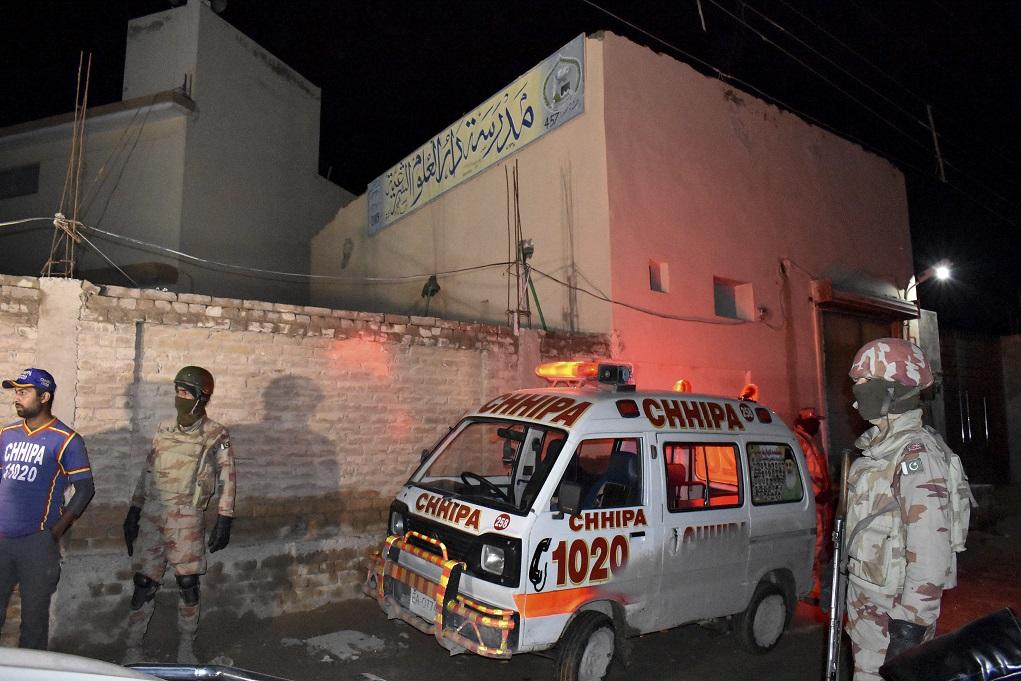 Έκρηξη βόμβας σε ιεροδιδασκαλείο σκοτώνει 7 και τραυματίζει 70 στο Πακιστάν
