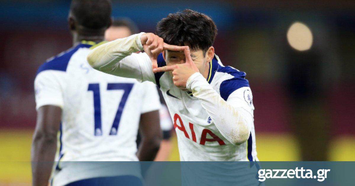 Μπέρνλι - Τότεναμ 0-1: Το «αχτύπητο» δίδυμο Κέιν-Σον γράφει ιστορία! (vid) | Premier League